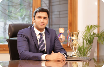 MVN schools president-VarunSharma